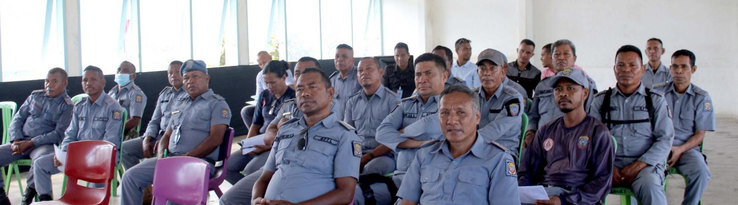 Timor-Leste: focus group discussion with prison guards